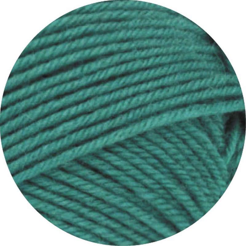 LANA GROSSA »Meilenweit 50 Cashmere« Häkelwolle, (50 Gramm), Sockenwolle, filzfrei, waschmaschinenfest, besonders weich