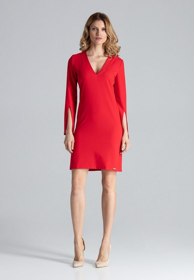 figl -  Jerseykleid mit raffinierten Ärmeln