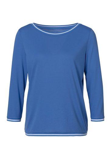 H.I.S 3/4-Arm-Shirt mit hochwertigen Rippbündchen