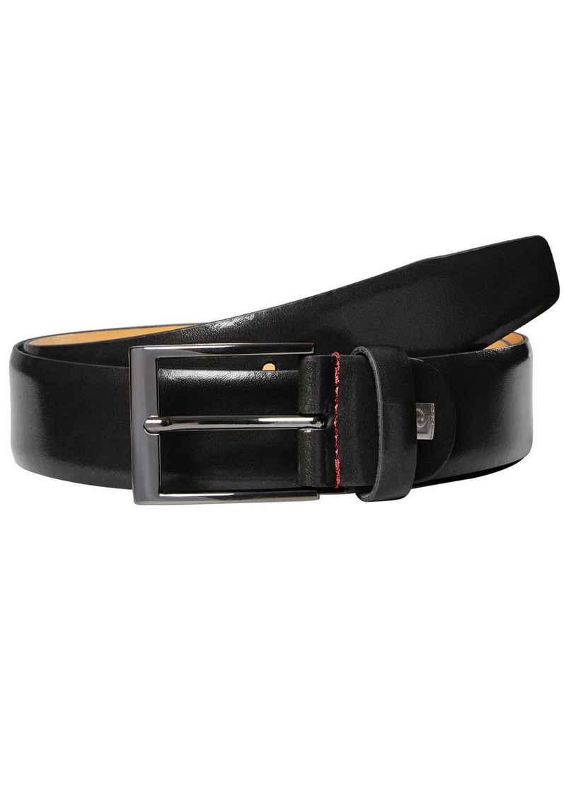 Pierre Cardin Ledergürtel »Elegant glänzender Rindledergürtel«