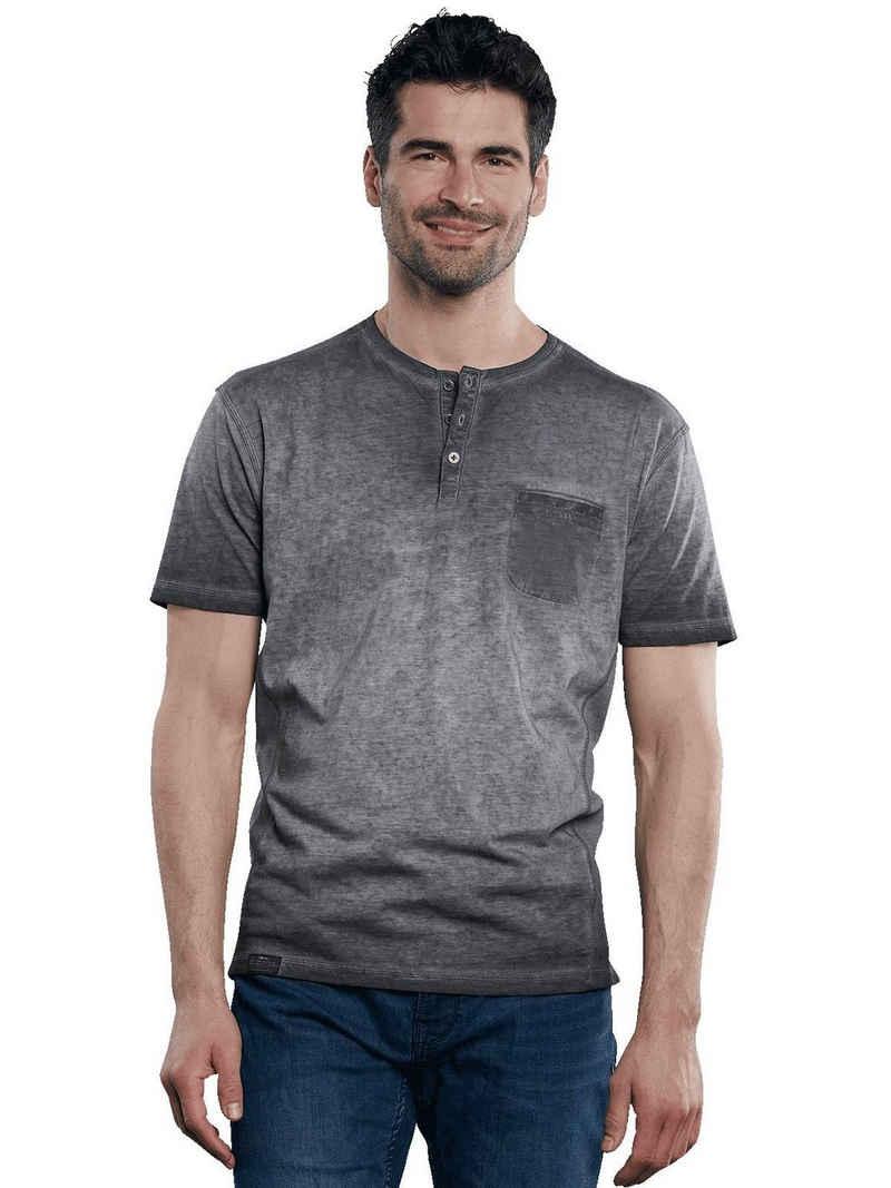 Engbers T-Shirt »Modisches Henleyshirt mit besonderer Färbung«
