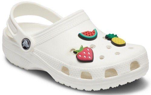 Crocs Schuhanstecker »Jibbitz™ Fruits« (Set, 3-tlg), bunte Anstecker