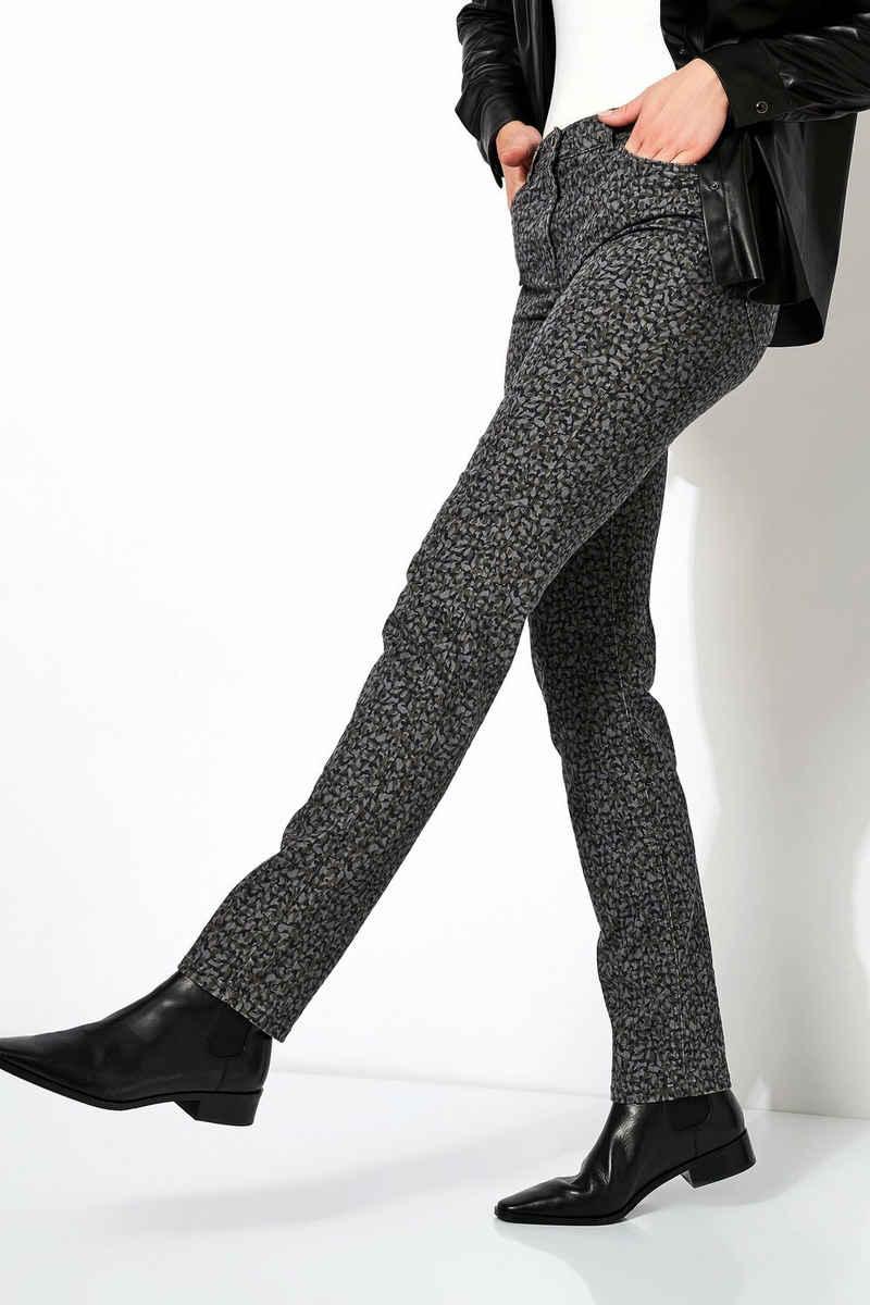 TONI 5-Pocket-Jeans »be loved« mit Naturdruck