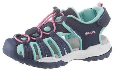 Geox Kids »Borealis Girl« Sandale mit praktischem Schnellverschluss