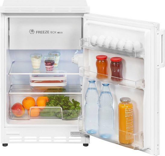 exquisit Einbaukühlschrank UKS 115-15 A+, 81,6 cm hoch, 49,5 cm breit