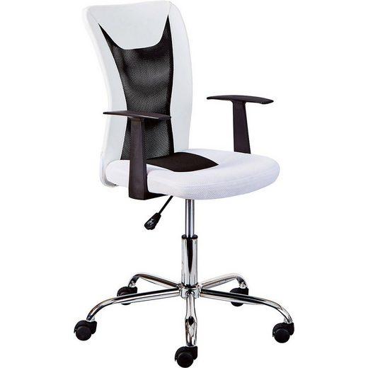 Inter Link Schreibtischstuhl »Drehstuhl SASSI, weiss/schwarz«