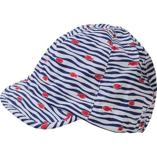 Sterntaler® Baseball Cap »Schirmmütze mit Nacken- und UV-Schutz 50+ für«