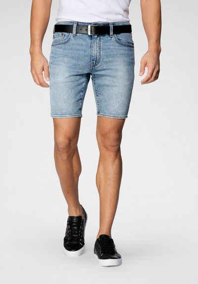 Levi's® Jeansshorts »412 SLIM SHORT« in authentischer Waschung