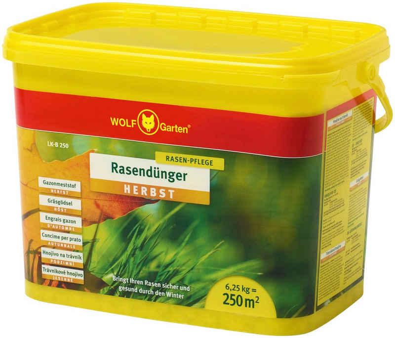 WOLF-Garten Rasendünger »LK-B 250 HERBST«, Granulat, 6,25 kg
