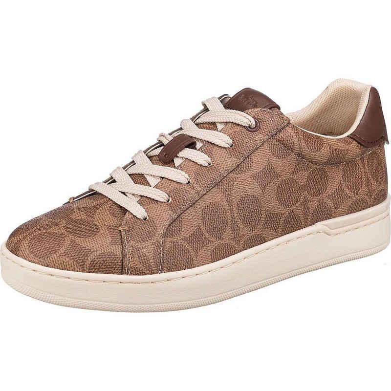 COACH »Lowline Coated Canvas Sneakers Low« Sneaker