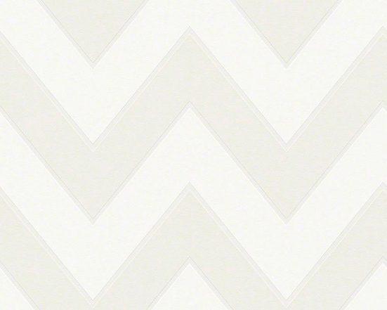 living walls Vliestapete »Black & White«, grafisch, geometrisch