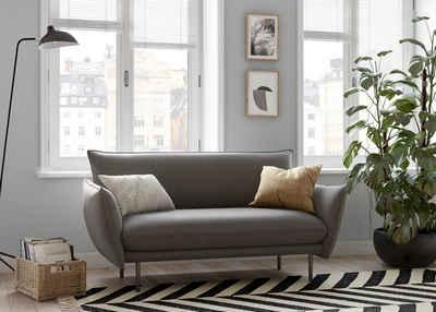 andas 2-Sitzer »Stine«, Besonderes Design durch Kissenoptik und Keder, Design by Morten Georgsen
