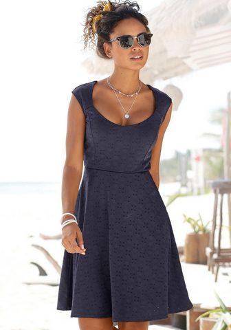 Beachtime Suknelė su Lochstickerei