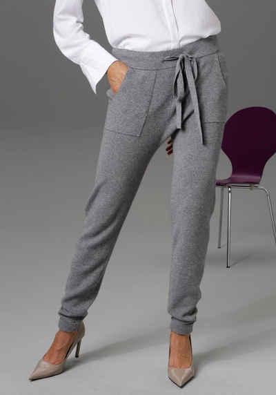 Aniston CASUAL Strickhose mit 2 aufgesetzten Taschen - NEUE KOLLEKTION