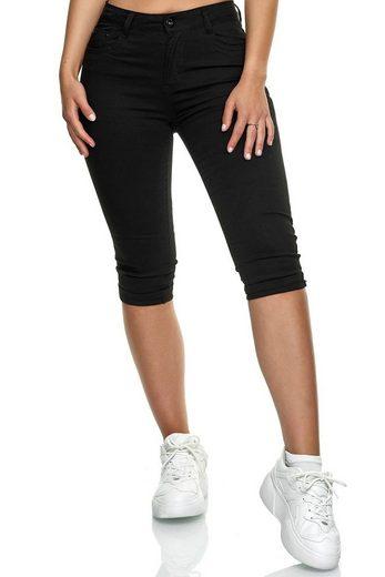 Egomaxx Caprihose »3206« Damen Capri Jeans