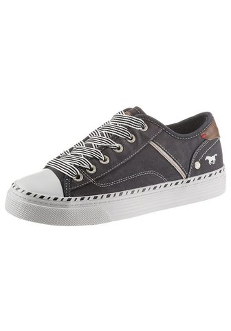 Mustang Shoes Sneaker su 3 cm Plateausohle