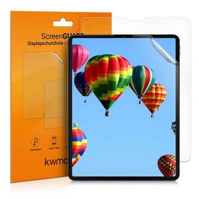 """kwmobile Schutzfolie, 2x Folie für Apple iPad Pro 12,9"""" (2020) - Full Screen Tablet Schutzfolie entspiegelt"""