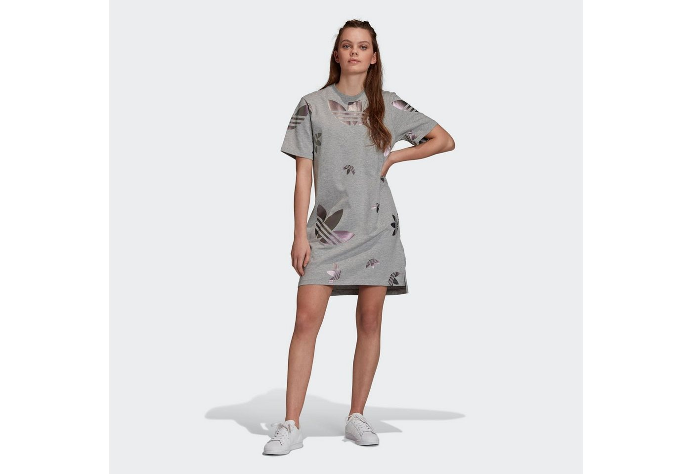 adidas originals -  Shirtkleid »Large Logo T-Shirt-Kleid«