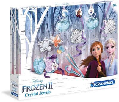 Clementoni® Experimentierkasten »Disney Frozen 2 - Magische Schmuckkristalle«, Made in Europe