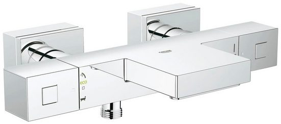 Grohe Wannenthermostat »Grohtherm Cube« für Wandmontage, Thermostat-Batterie, DN 15