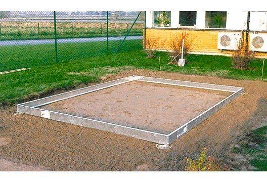 VITAVIA Fundamentrahmen »11500«, BxL: 254x441 cm, schwarz