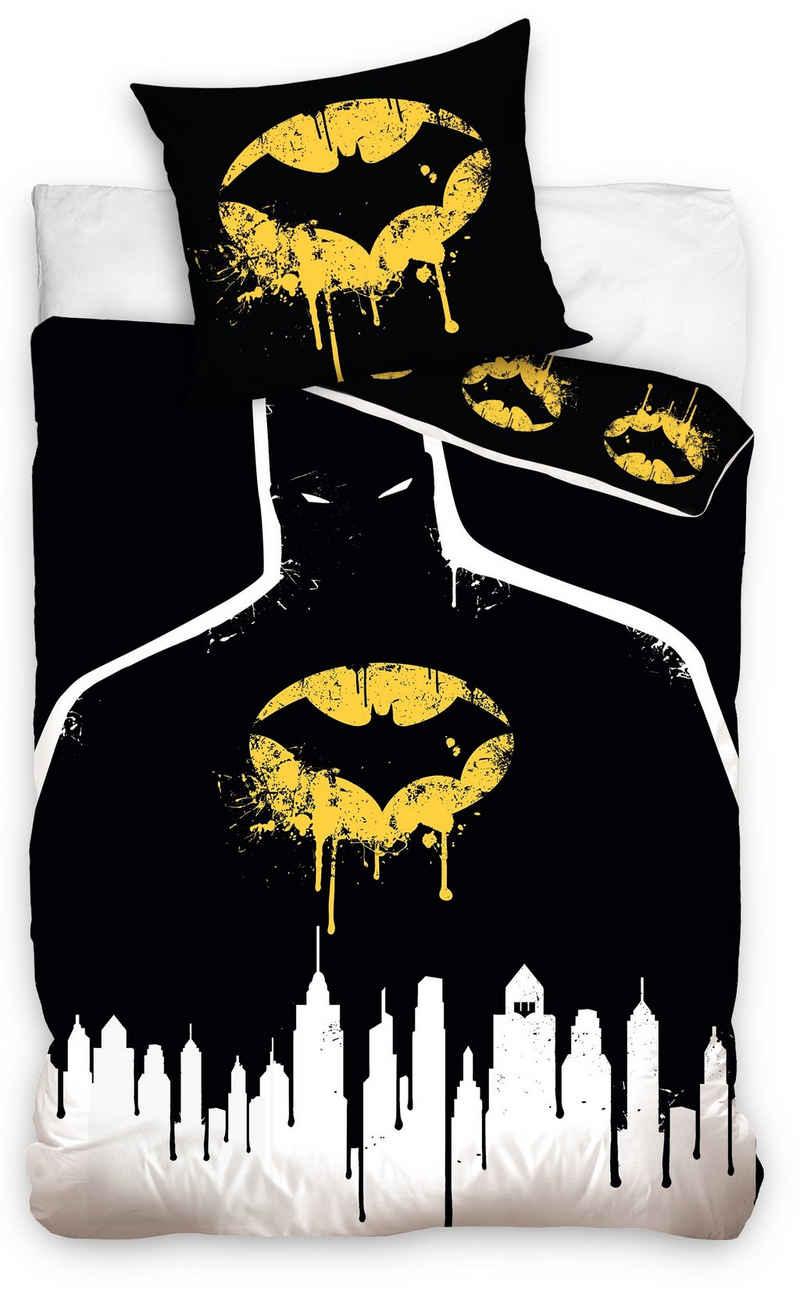 Bettwäsche »Batman Logo«, Batman, in Gotham City