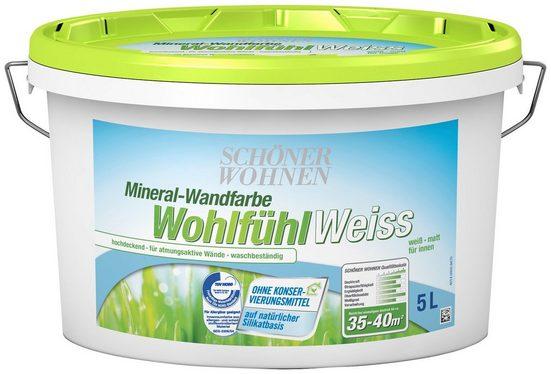 SCHÖNER WOHNEN-Kollektion Wandfarbe »Wohlfühl Weiss«