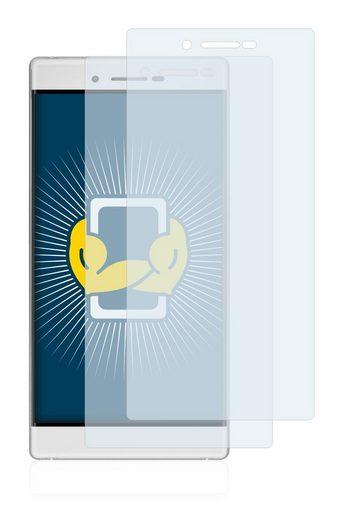 BROTECT Schutzfolie »für Cubot X11«, (2 Stück), Folie Schutzfolie klar