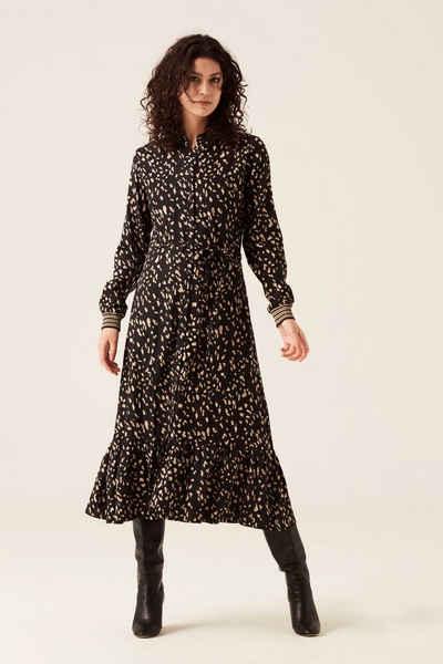 Garcia A-Linien-Kleid »I10083 - 60-black« mit Knopfleiste