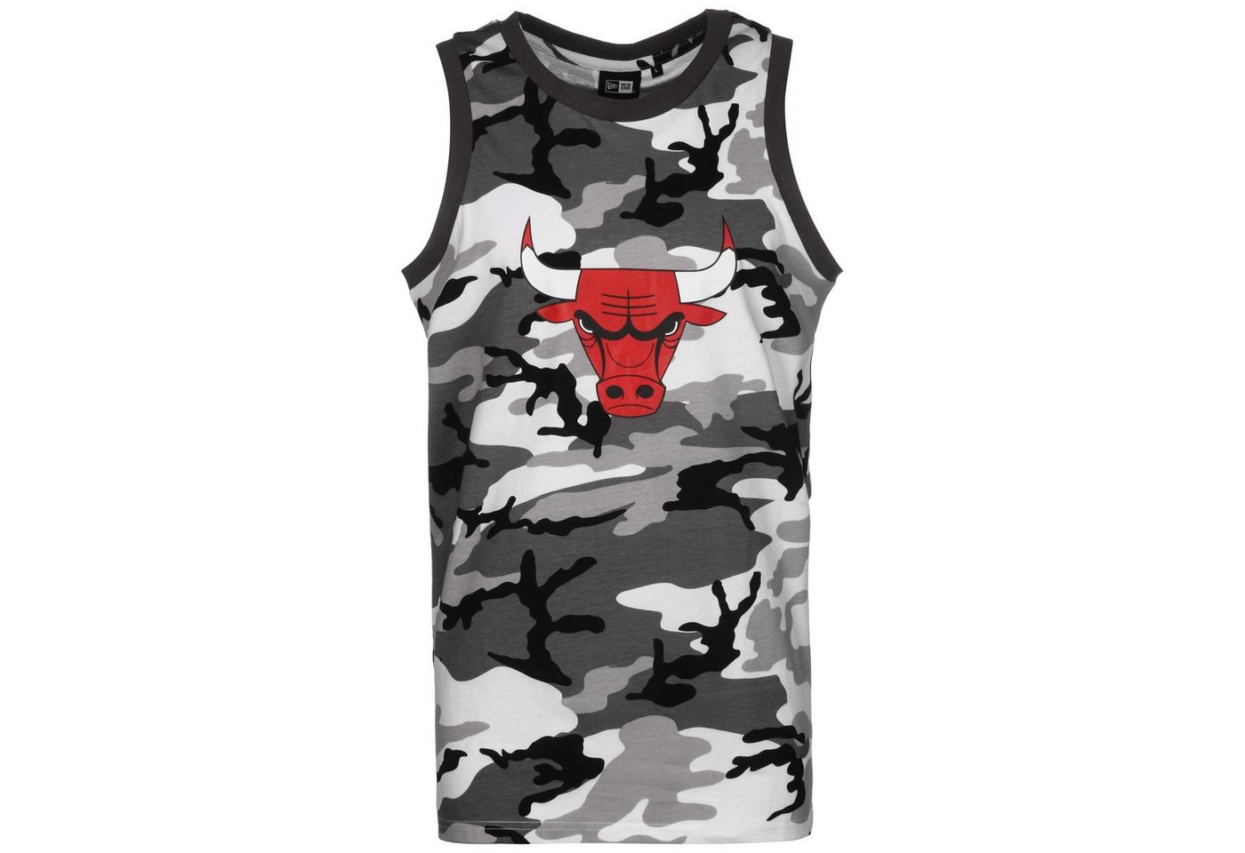 new era -  Tennisshirt »Nba Chicago Bulls Camo«
