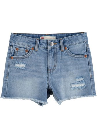 Levi's Kidswear Džinsiniai šortai su leicht ausgefrans...