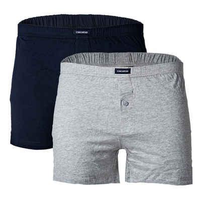 CECEBA Boxer »Herren Shorts, 2er Pack - Boxershorts, Basic,«