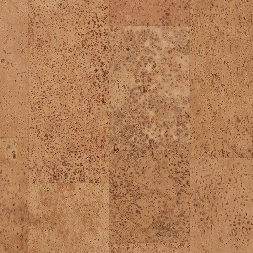 Bodenmeister Korklaminat »natur«, Packung, ohne Fuge, 90 x 30 cm Fliese, Stärke: 10,5 mm