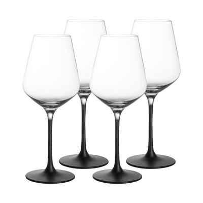 Villeroy & Boch Weißweinglas »Manufacture Rock Weißweinkelch Weinglas 380 ml«, Glas
