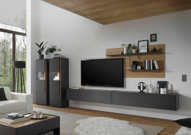 Wohnwände - INOSIGN Wohnwand »CiTY Kombi 22«, (Set, 4 tlg), Breite ca. 440 cm  - Onlineshop OTTO