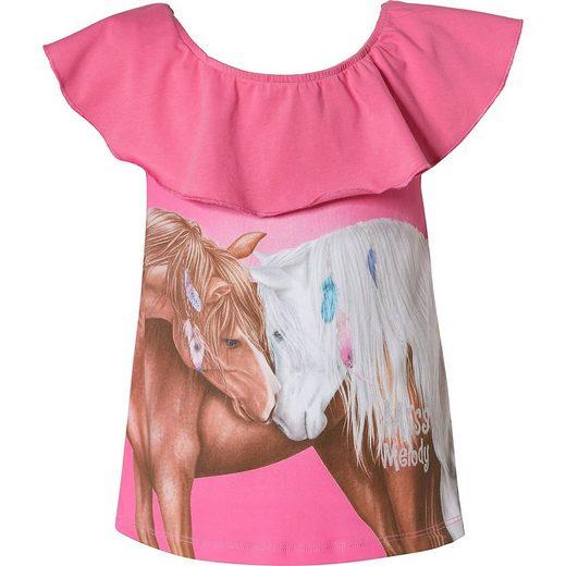 Miss Melody T-Shirt »Miss Melody T-Shirt für Mädchen«