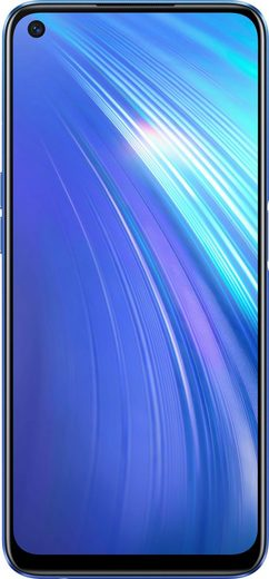 Realme 6 4+64GB Smartphone (16,5 cm/6,5 Zoll, 64 GB Speicherplatz, 64 MP Kamera)