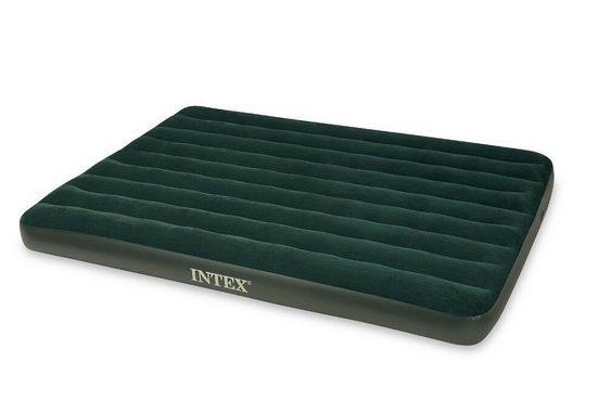 Intex Luftbett »Intex Luftbett Gästebett Bett Matratze Lutmatratze inkl. Pumpe 203x152x22cm«