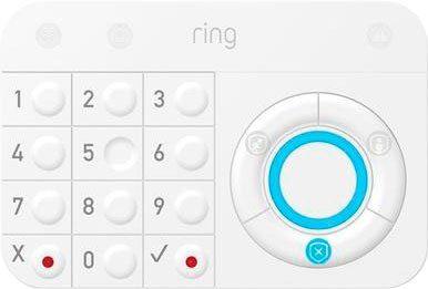 Ring »Alarm Keypad« Button