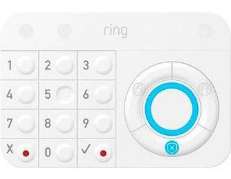 Ring Žiedas »Alarm Keypad« Button