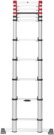 Hailo Teleskopleiter »FlexLine«, Alu-Sicherheits 11 Sprossen