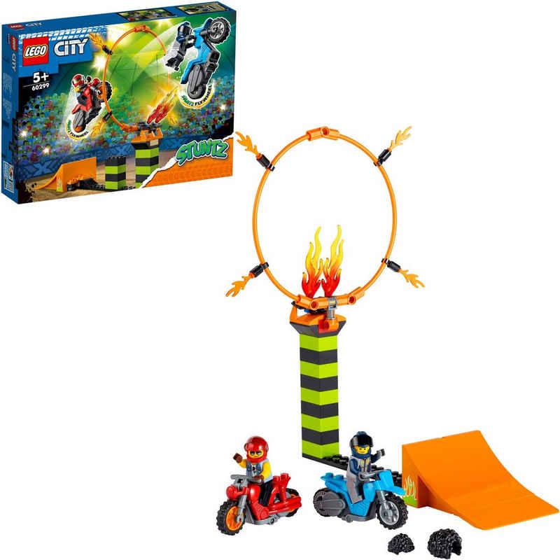 LEGO® Konstruktionsspielsteine »Stunt-Wettbewerb (60299), LEGO® City Stuntz«, (73 St), Made in Europe