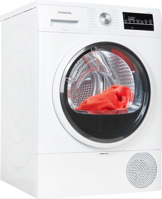 SIEMENS Wärmepumpentrockner iQ500 WT45RTECO| 8 kg | Bad > Waschmaschinen und Trockner > Wärmepumpentrockner | Siemens