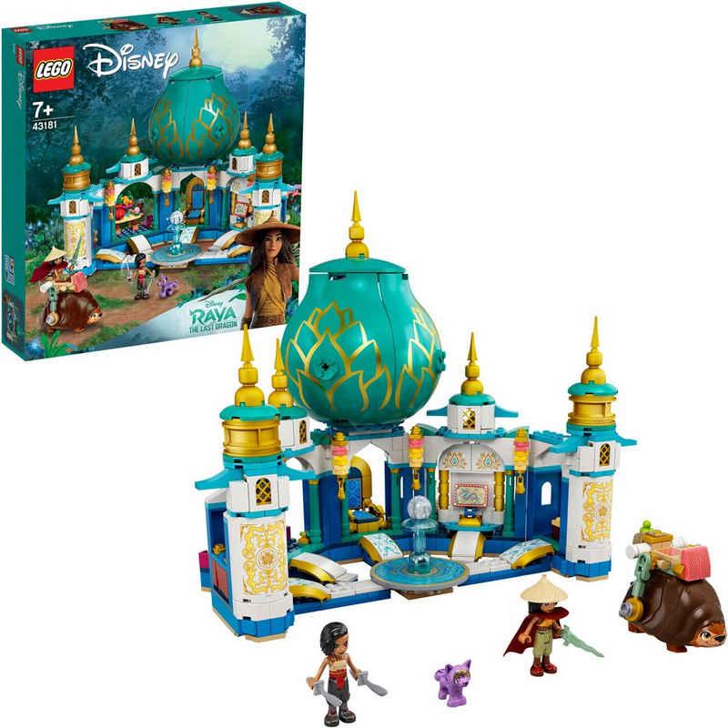 LEGO® Konstruktionsspielsteine »Raya und der Herzpalast (43181), LEGO® Disney Princess™«, (610 St), Made in Europe