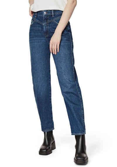 Mavi Mom-Jeans »LOLA-MA« mit stylischer Passe vorne am Bund - NEUE KOLLEKTION