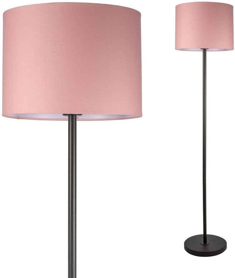Pauleen Stehlampe »Grand Reverie«, Stoffschirm Rosa