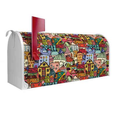 banjado Briefkasten »US Mailbox Motiv Funky Town«