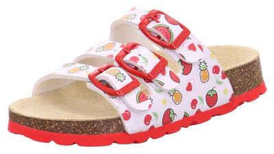 Superfit »Fußbettpantolette« Pantolette mit allover Print