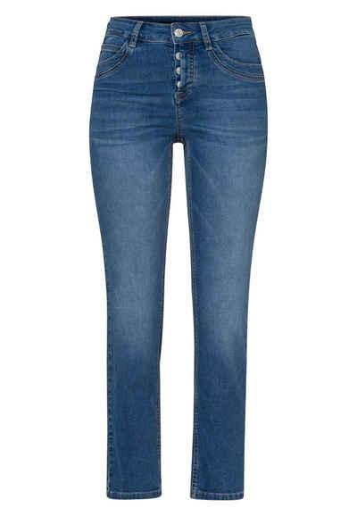 Zero 5-Pocket-Jeans »Slim Fit Seattle 28 Inch« Plain/ohne Details
