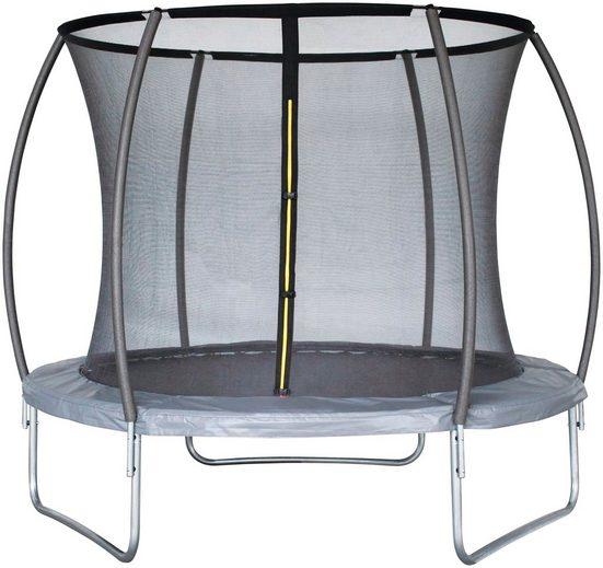 Joka Fit Gartentrampolin »Platinum«, Ø 305 cm, mit 6 Netzstangen und Einstiegsleiter
